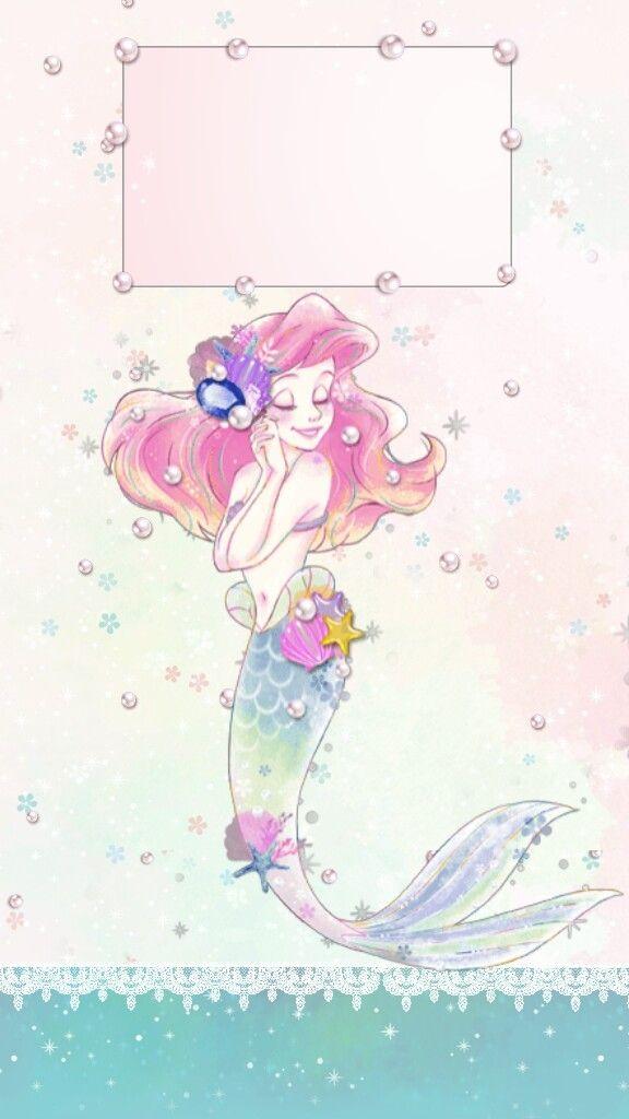 "heymi243: ""Kawaii little mermaid "" | Mermaid wallpapers ..."