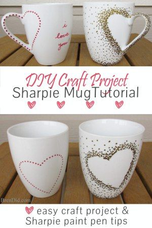 1000 ideas about oil sharpie on pinterest writing on for Craft smart paint pen on mugs