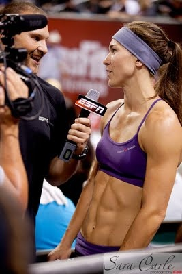 Lindsey Smith is my inspiration.  Hooray for tall CrossFit girls!!!