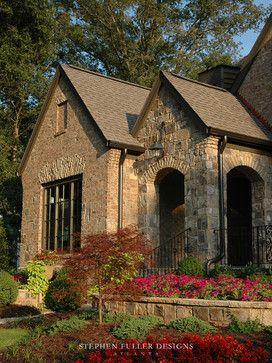 Atlanta Traditional Exterior Photos Stone And Brick Exterior Design, Pictures, Remodel, Decor and Ideas