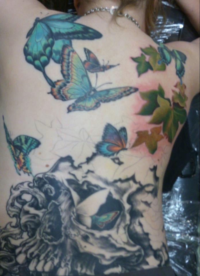 Session 5. Work done at Korpus Tattoo.