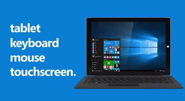 Windows 10 Blurs The Difference Between PC's Tablets and Smartphones