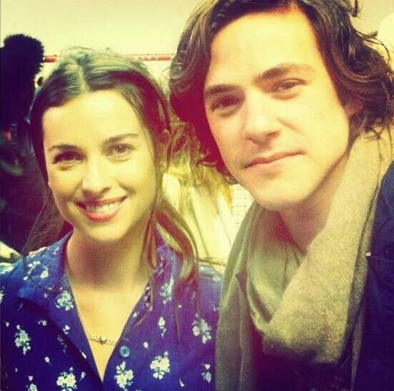 Amelia Warner and Jack Savoretti