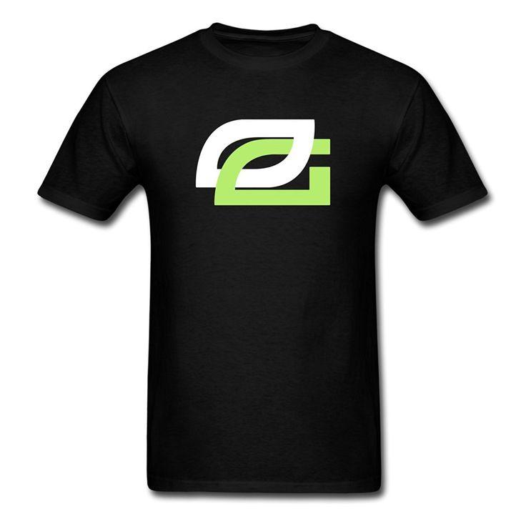 Customised T Shirts Comfort soft O-Neck Short-Sleeve Shirt OpTic Gaming Logo For Men #Affiliate