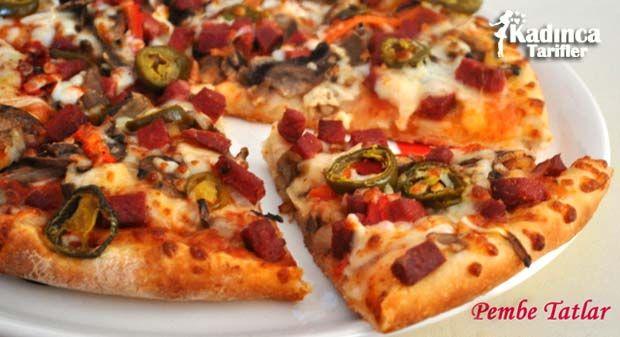 Sebzeli Karışık Pizza Tarifi