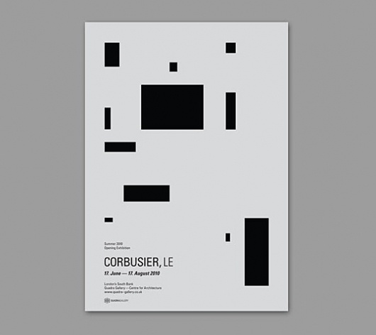 Le Corbusier. Layout that exudes the iconic Corbusier style. #editorial