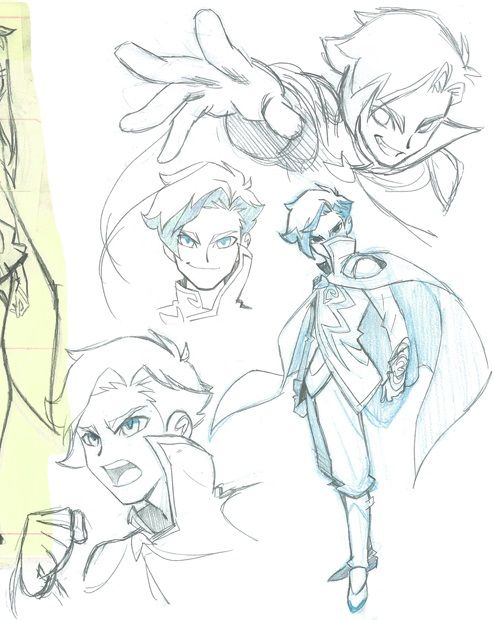The is official concept art of Mephisto from Lolirock found at teamlolirock.tumblr.com.