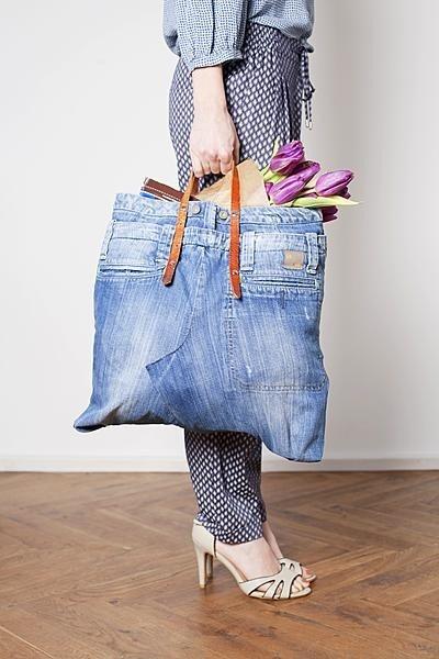 Libelle 11-2013 XL tas van een spijkerbroek!