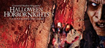 USS Halloween Horror Nights 3 -  Get trapped inside a horror movie at this immersive skin-crawling experience. #SGTravelBuddy