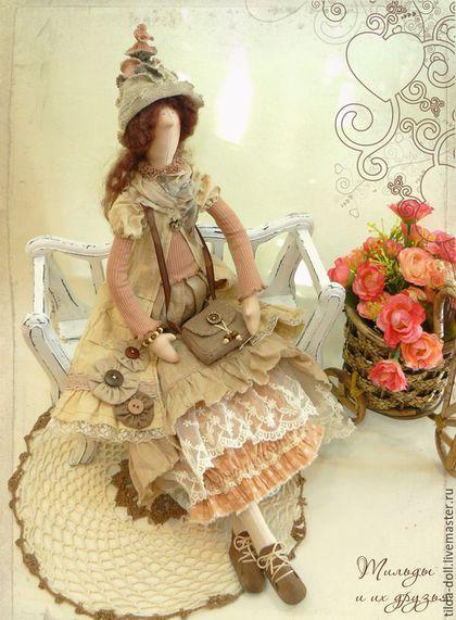 Кукла в стиле Бохо: Лизет  ( коллекция Бохо Шик)