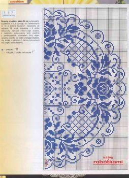 filet crochet tablecloth