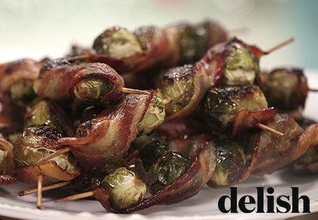 Bacon Brussels Sprout Skewers