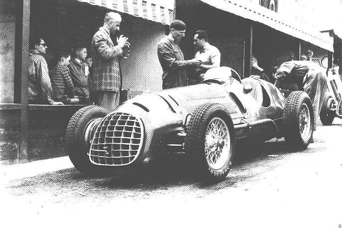 #2 Luigi Villoresi (Ita) - Ferrari 125 (Ferrari V12S) 6 (4) Scuderia Ferrari
