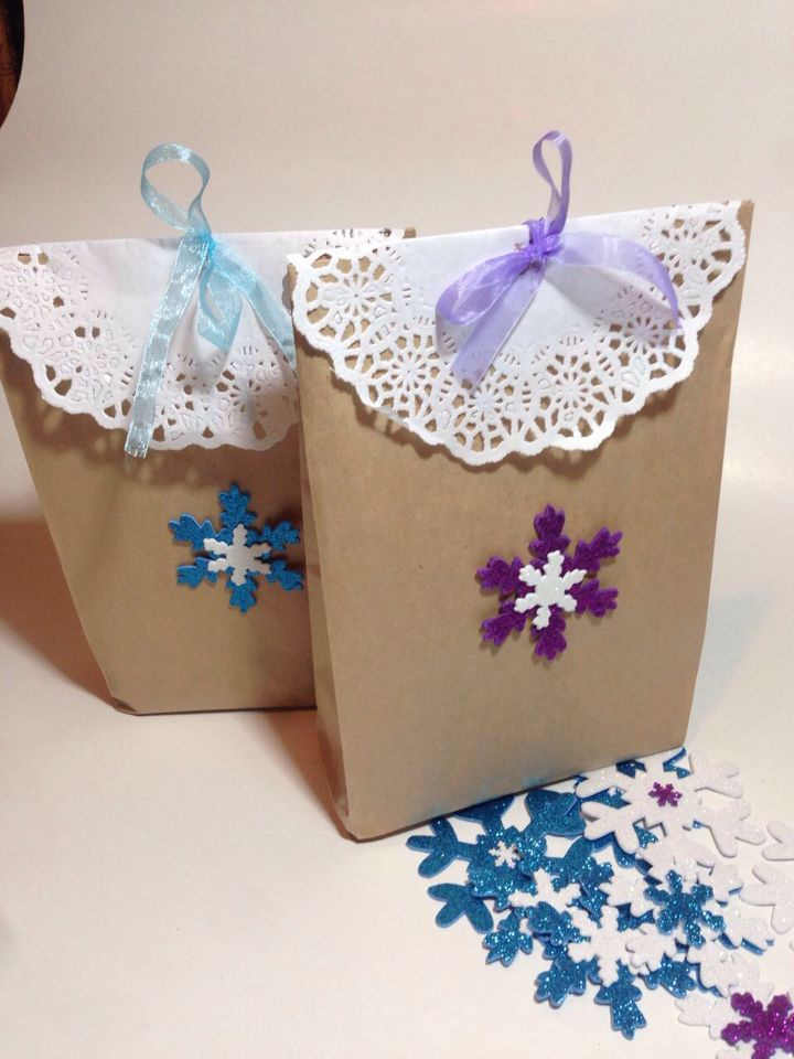 Bags frozen birthday handmade