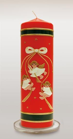 Kerze zu Weihnachten - Weihnachtskerze