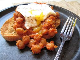 Stirring the Pot: Ottolenghi's Slow-Cooked Chickpeas on Toast with Poached Egg