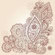 paisley lace   henna inspiration