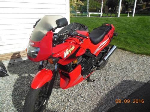 #3738723808 Oncedriven 2008 Kawasaki Ninja 500R - Chelan, WA
