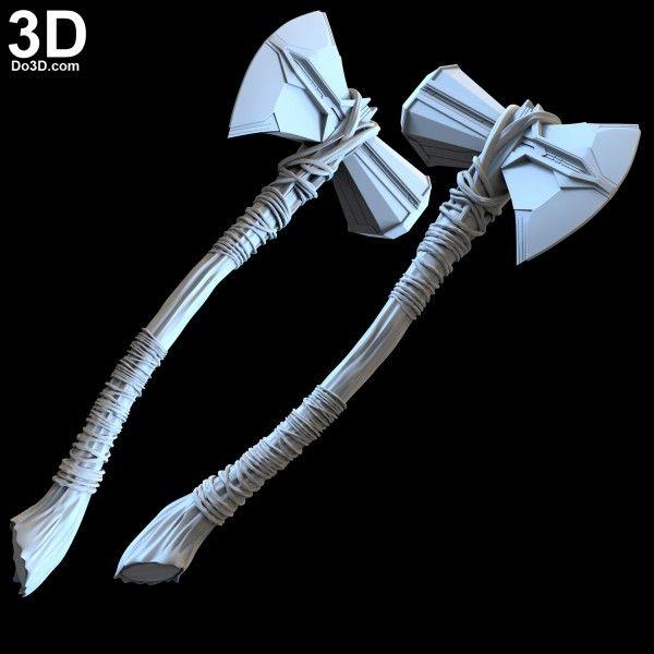 Thor Stormbreaker Axe Avengers 4 Infinity War Weapon 3d Printable