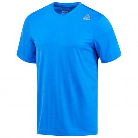Reebok Workout Ready Activchill Tech fitness shirt heren vital blue De Wit Schijndel