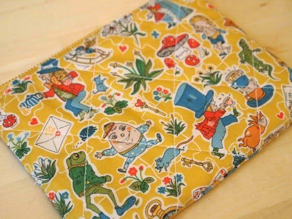 zipper pouches by Liberty tana lawn fabrics