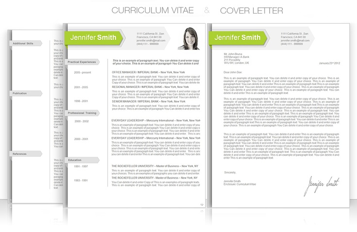 CV Template u2022 CV Template Package Includes Professional layout - professional word templates