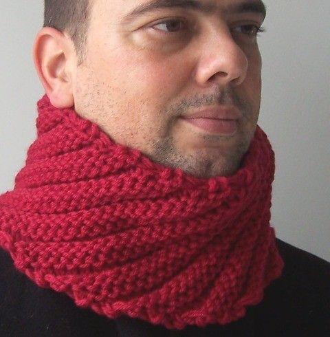 Sciarpa sciarpa uomo Maglia cappuccio di cerchio camino Mens Circle sciarpa moda inverno accessori San Valentino giorno autunno menswear uomini