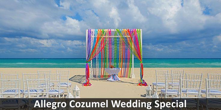 Allegro Cozumel Wedding Special - https://traveloni.com/vacation-deals/allegro-cozumel-wedding-special/ #destinationwedding #weddingdeal #mexicowedding