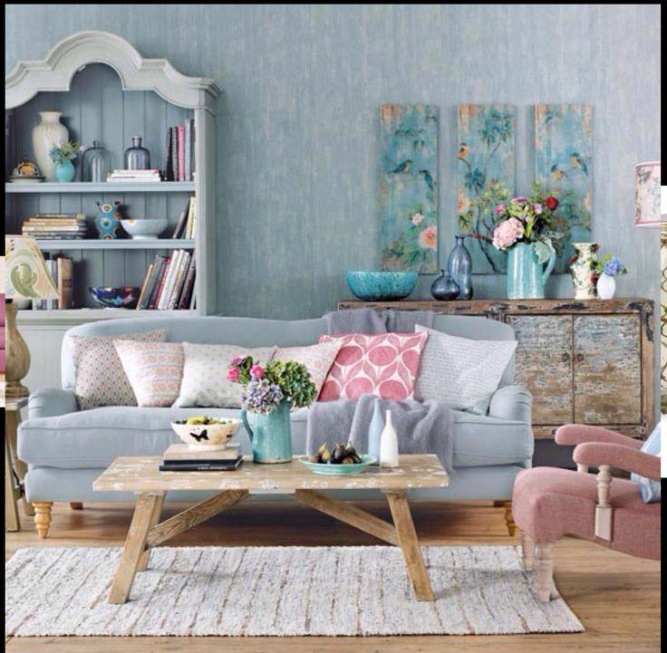 Gorgeous pastel lounge