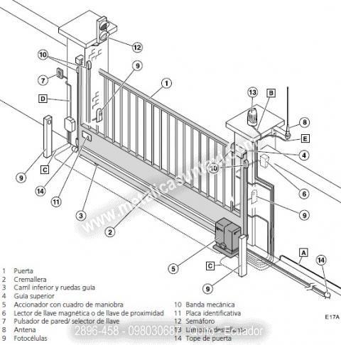 M s de 25 ideas incre bles sobre puertas automaticas en - Mecanismo puerta garaje ...