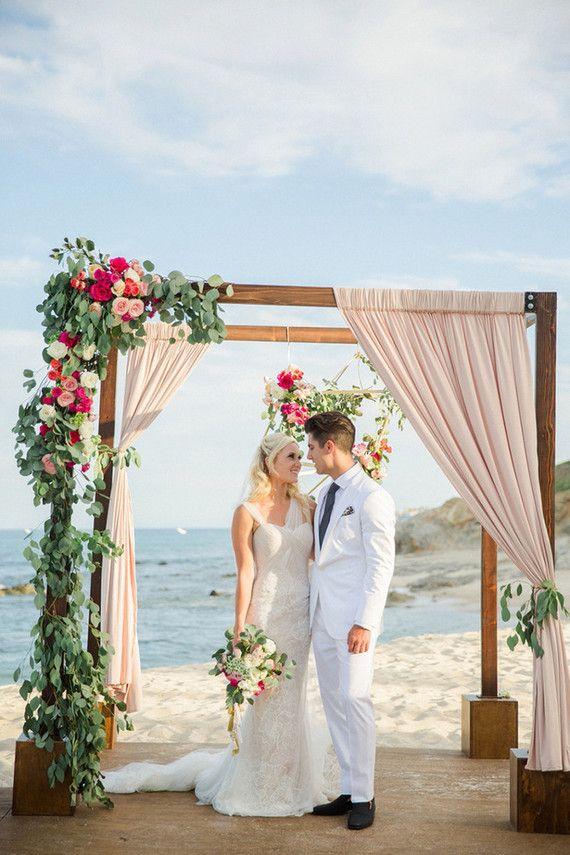 Destination Cabo Surf Hotel wedding: Jenny Adam