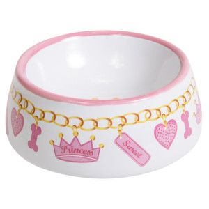 Top Paw Princess Necklace Dog Bowl | Food & Water Bowls | PetSmart