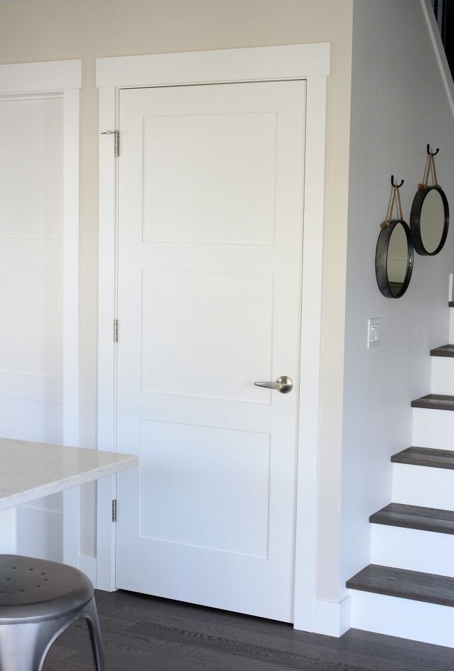 Shaker Style Trim And Doors The Makeover Details Shaker Style Interior Doors Shaker Doors Shaker Style Doors