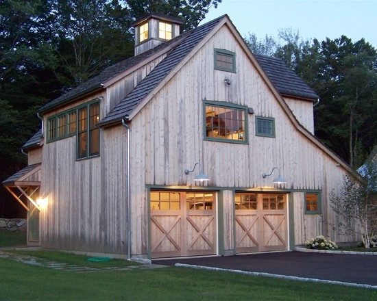 Please build me a barn (with a craft room in the loft!) - thanks honey!