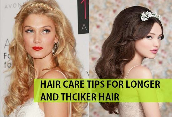 Indian #Hair Care Tips for Long and Thick Hair