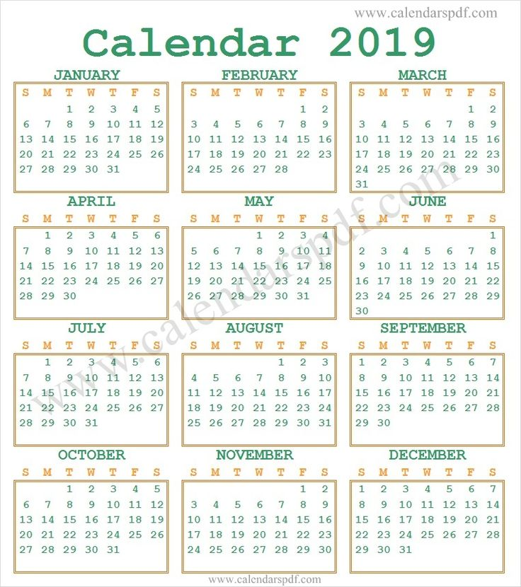 2019 Calendar India | Indian Calendar 2019 | 2019 yearly ...