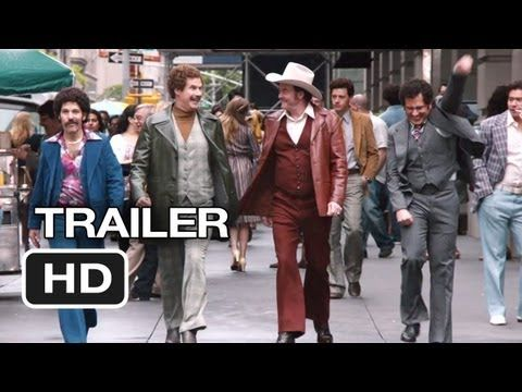 ▶ Anchorman 2: The Legend Continues Official Trailer #1 (2013) - Will Ferrell Movie HD - YouTube