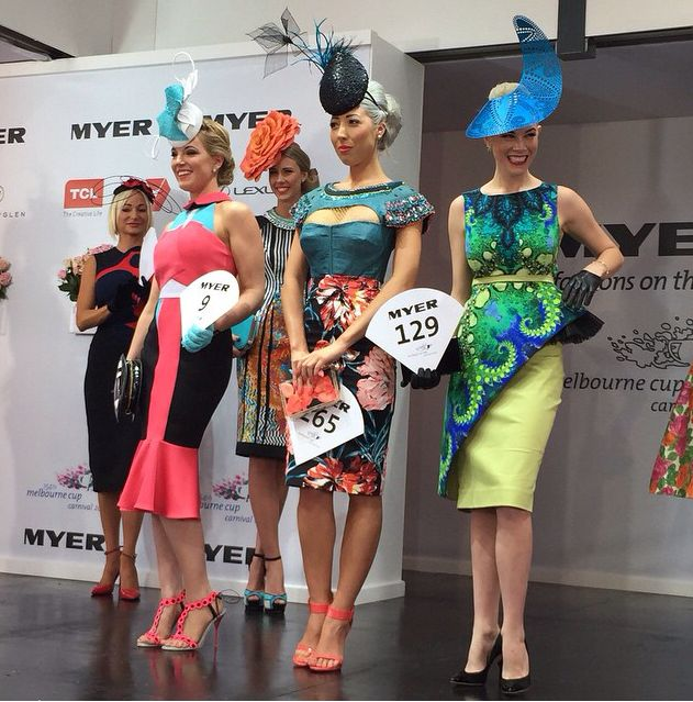 2014 Melbourne Cup. Fashions on the Field Entrants.