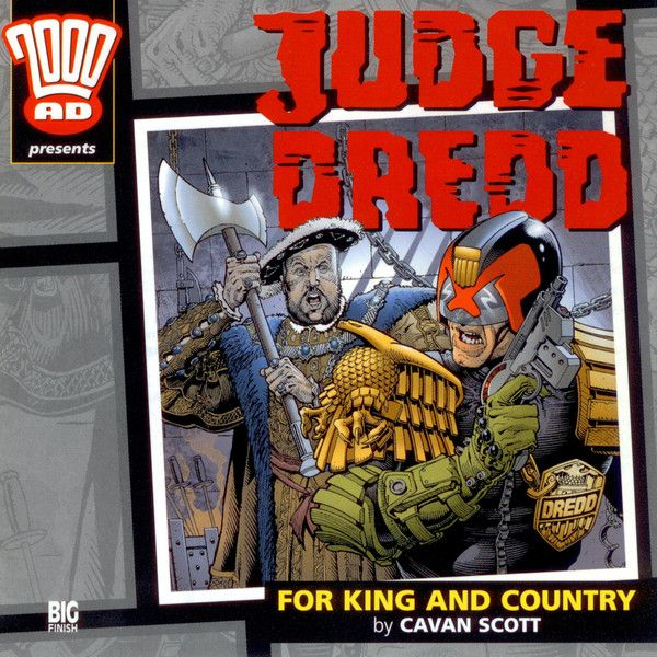 15. Judge Dredd: For King and Country