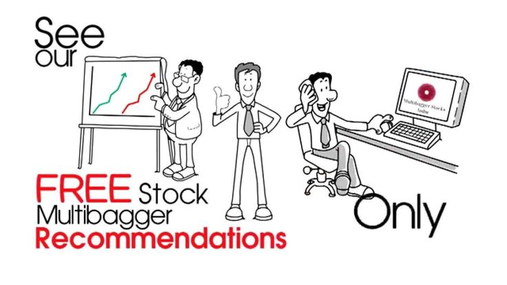 A Stock or Share which gives you a return of more than 100% is called a MULTIBAGGER STOCK.We provide FREE Multibagger Stock recommendations every month along with Top 20 Stock recommendations for the entire year.