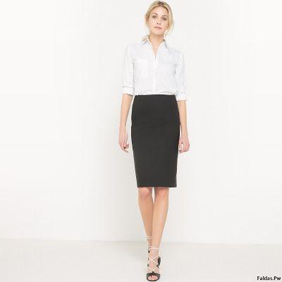Faldas Negras de Moda
