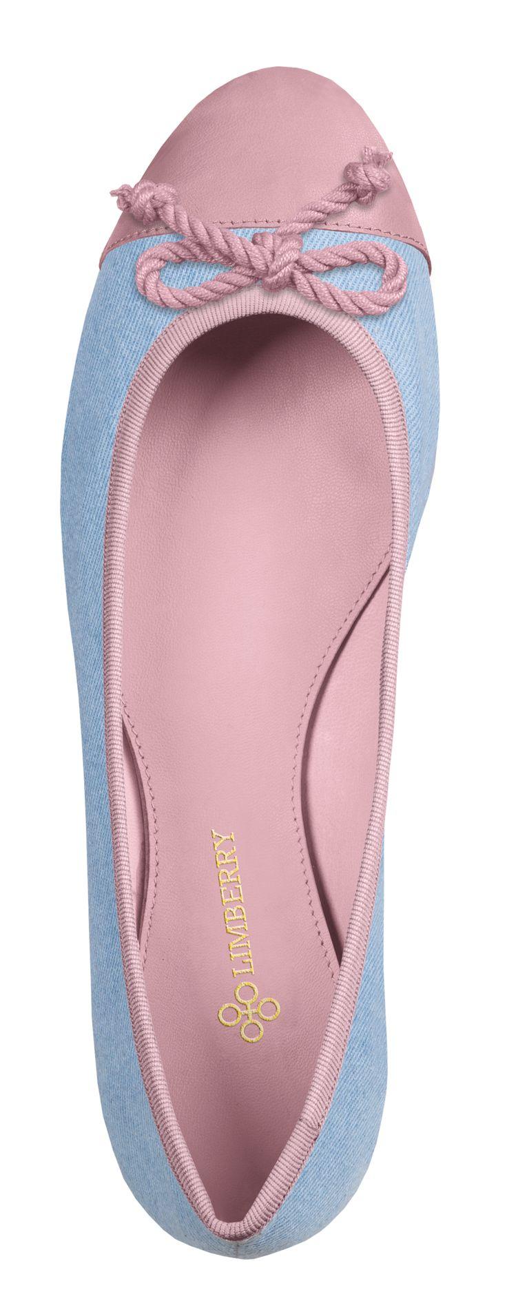 Carrie Ballerina aus Jeans mit Wildlederkappe in Rosa kombiniert . Passend zu Luna Largo Lily Super Slim Powerdenim in Marine . Lipödem Lymphödem Outfit Plus Size Mode