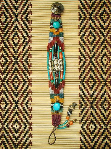 ~ weaving bracelet ~   Flickr - Photo Sharing!