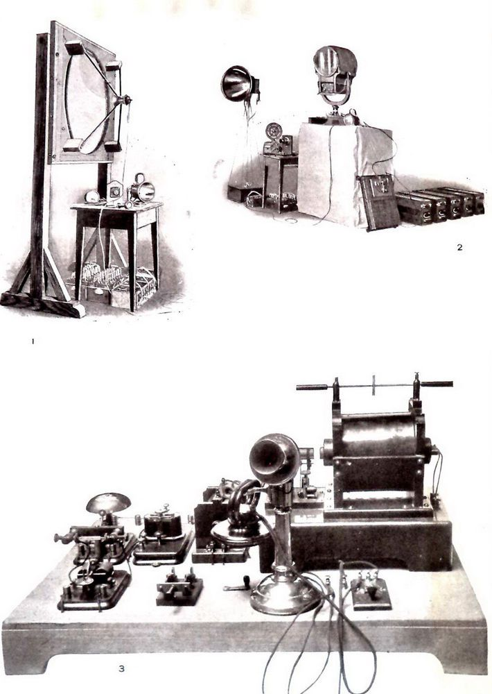1904 Ruhmer Wireless Telephony Print antique telephone Receiver Transmitter art  | eBay