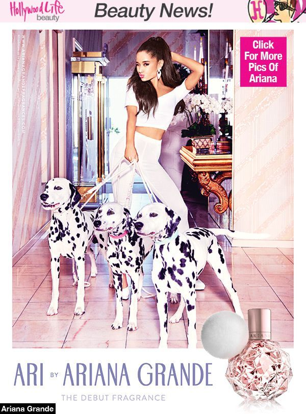 Ariana Grande Reveals First Fragrance Campaign Ad — Cute Pic