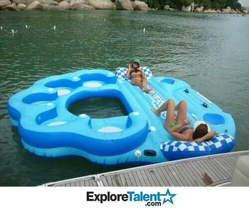 This would make for a fun day on the lake