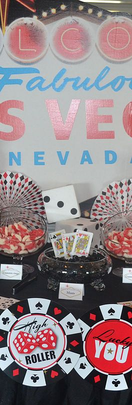 Las Vegas Candy Table
