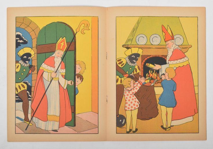 Sinterklaasboekje illustraties