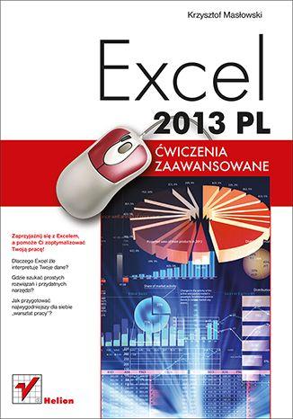 """""""Excel 2013 PL. Ćwiczenia zaawansowane""""  #ksiazka #helion #excel2013 #excel"""