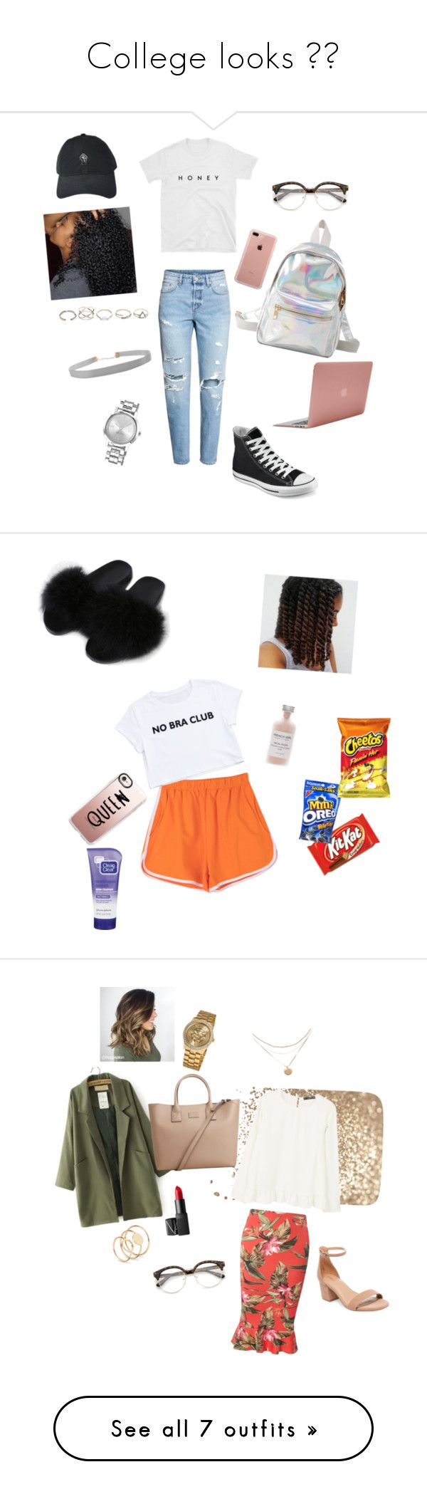 College looks 🌹🔥 by danielsnaja on Polyvore featuring polyvore, fashion, style, Converse, Charlotte Russe, Belkin, Incase, GUESS, Humble Chic, Nine West, clothing, Casetify, Clean & Clear, French Girl, Dorothy Perkins, MANGO, Vernier, NARS Cosmetics, Topshop, Vans, JanSport, SO, Ana Accessories, Bobbi Brown Cosmetics, ban.do, Gap, CLUSE, J.Crew, Sole Society, Lydell NYC, Forever 21, Geneva, Paper Mate and WithChic
